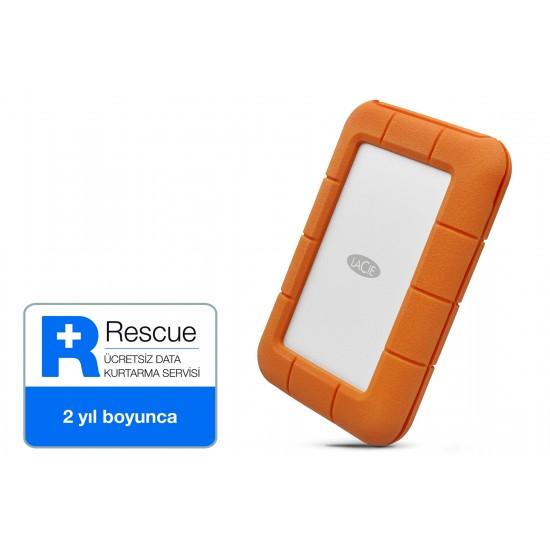 """Lacie STFR1000800 1 TB 2.5"""" Usb 3.1 (Usb-C) Rugged Mini Taşınabilir Disk"""