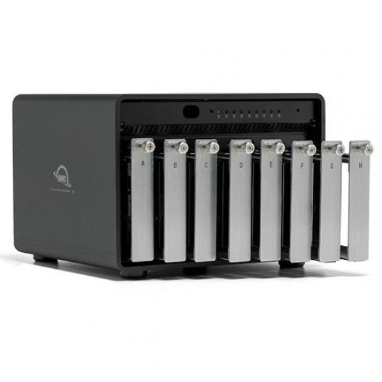 144 TB OWC ThunderBay 8 Thunderbolt 3 Storage Solution